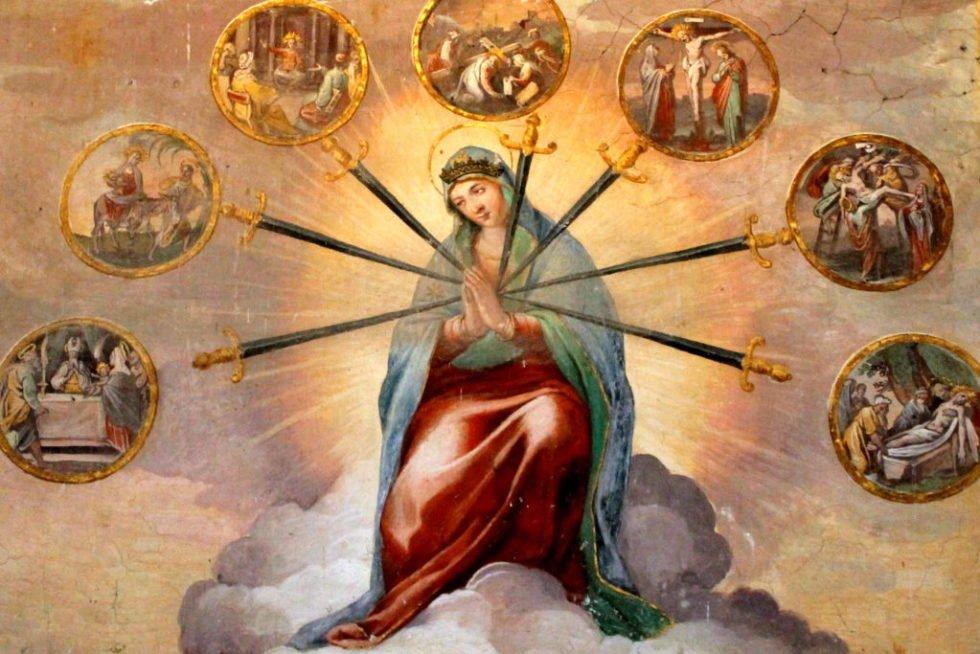 Oração às Sete Dores de Maria Santíssima